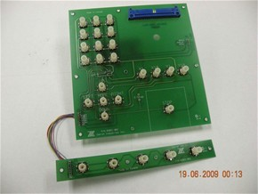 KEY PAD ASSEMBLY - 61000 (REV B)